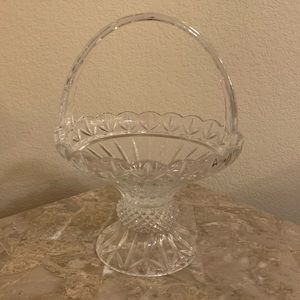 Crystal Candy Bowl/ Basket